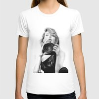 angelina jolie T-shirts featuring Angelina Jolie by Jade Chauvin