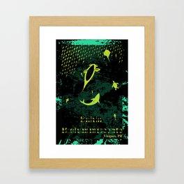 Bioluminescent Bay, Vieques, PR Framed Art Print