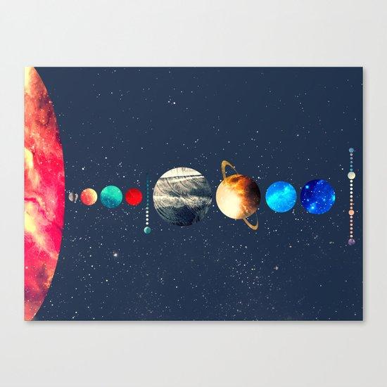 Solar System vol 2 Canvas Print