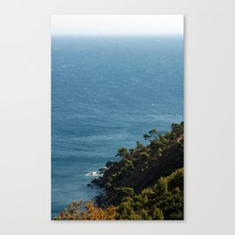 Seascape France Cote d'Azur 1766 Canvas Print