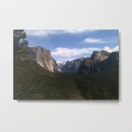 Yosemite National Park jGibney The MUSEUM Gifts Metal Print
