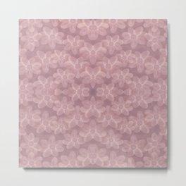 Flower Petals Mauve   Metal Print