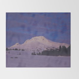 Mt. Hood, Oregon Throw Blanket