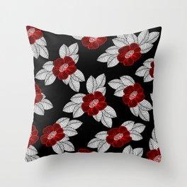Flower 11 Throw Pillow