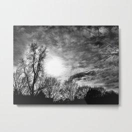 Blinding Light Metal Print