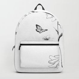 Flowers and butterflies 2 Backpack
