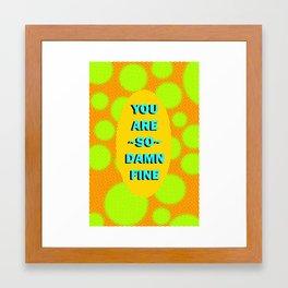 SO Fine Framed Art Print