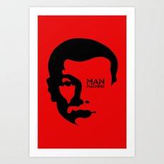 MAN MACHINE (KRAFTWERK!) Art Print