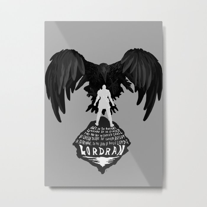 Chosen Undead Metal Print