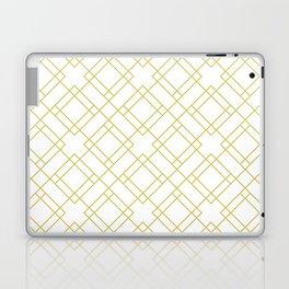 Simply Mod Diamond in Mod Yellow Laptop & iPad Skin