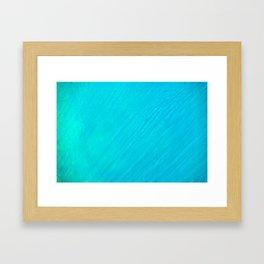 Turquoise Marble River Framed Art Print