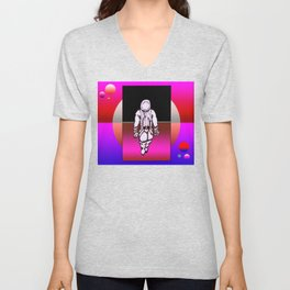 Colliding Space Unisex V-Neck