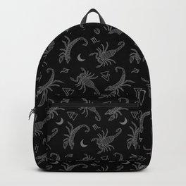 B&W Scorpio Moon Backpack