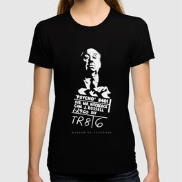 Alfred Hitchcock Master of Suspense Movie Psycho T-shirt