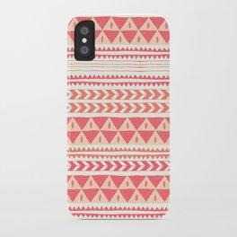 Winter Stripe II iPhone Case