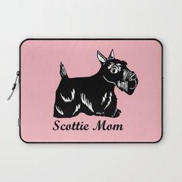 Scottie Mom Laptop Sleeve