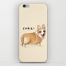 Corgi iPhone Skin