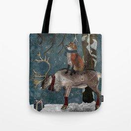 Winter Tale Tote Bag