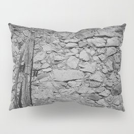 Old Stone Wall Pillow Sham