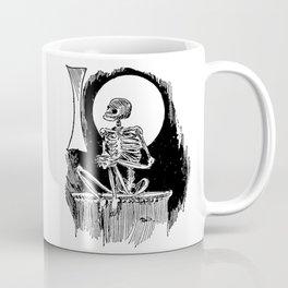 Skeleton waiting Coffee Mug