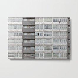 White window frames Metal Print