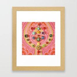 Colourtree Framed Art Print