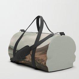 Iceland Road Landscape Duffle Bag