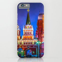 Iberian Or Resurrection Gate To Red Square iPhone Case