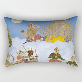 THE ANCIENTS IN THE SKY I Rectangular Pillow
