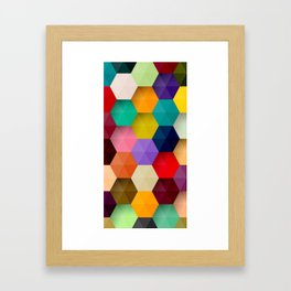 Abstract Colorful 3D Framed Art Print