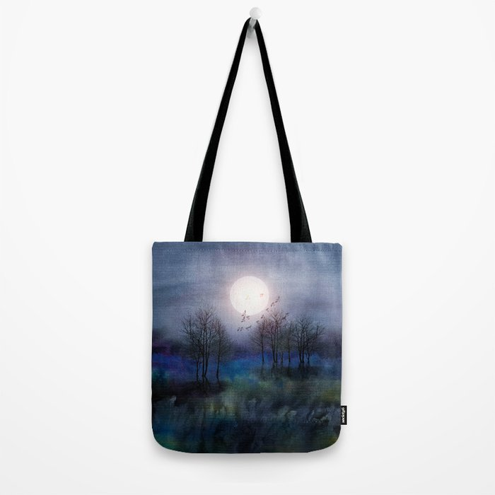 Calling The Moon Tote Bag