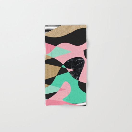 Shapes_Textures_Stripes Hand & Bath Towel