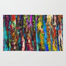 Colored Tree Bark 2 Rug