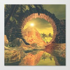 The temlpe Canvas Print
