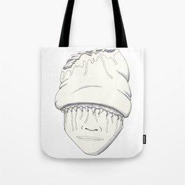 Slug Head Tote Bag