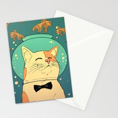 Cat's Dream Stationery Cards