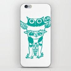 badass owls iPhone & iPod Skin