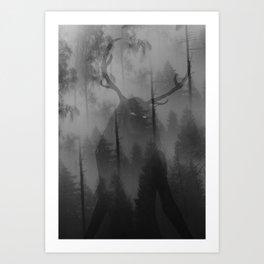 Wendigo I Art Print