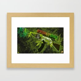 Machine Gun 6 Framed Art Print