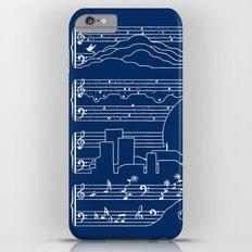 The Moonlight Sonata Blue iPhone 6 Plus Slim Case