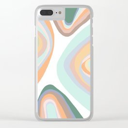 Mountainside Clear iPhone Case