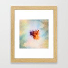 Belgian Malinois Puppy Painting - Mechelaar Framed Art Print