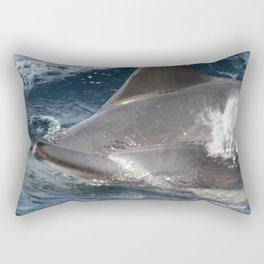 Common Dolphins Rectangular Pillow