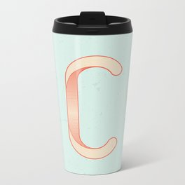 C 001 Metal Travel Mug