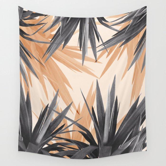 Orange Tropics Wall Tapestry