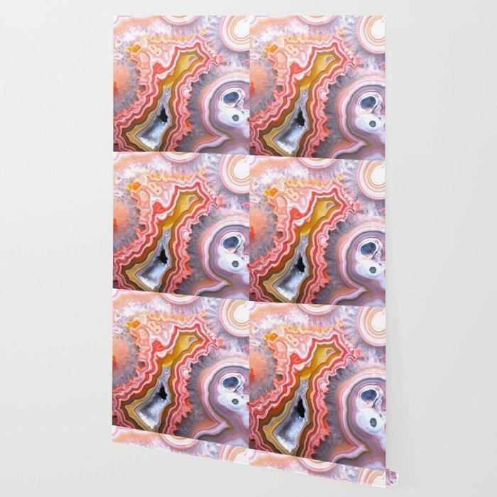 Agate Gem slice Wallpaper