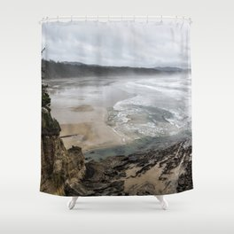 Lookout Point near Otter Rock Shower Curtain