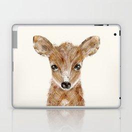 little deer fawn Laptop & iPad Skin