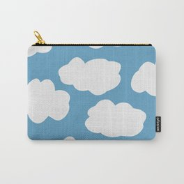 Blue Sky and Fluffy White Clouds Carry-All Pouch