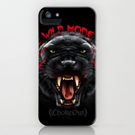 Wild Mode. Bjj, Mma, grappling iPhone Case